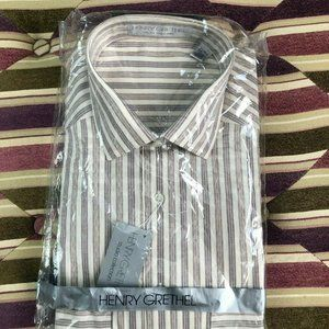 NWT HENRY GRETHEL Studio Collection Button Up sz M